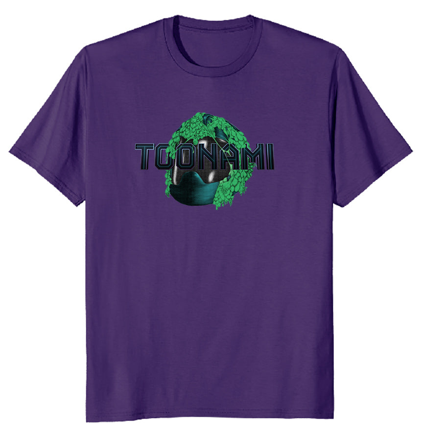 Toonami Fall '20: Slimed TOM T-shirt (Purple)