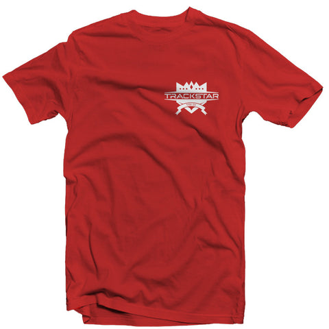 Trackstar Logo T-shirt - Red