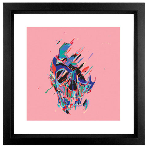 To Know And To Hide - Fine Art Print- framed