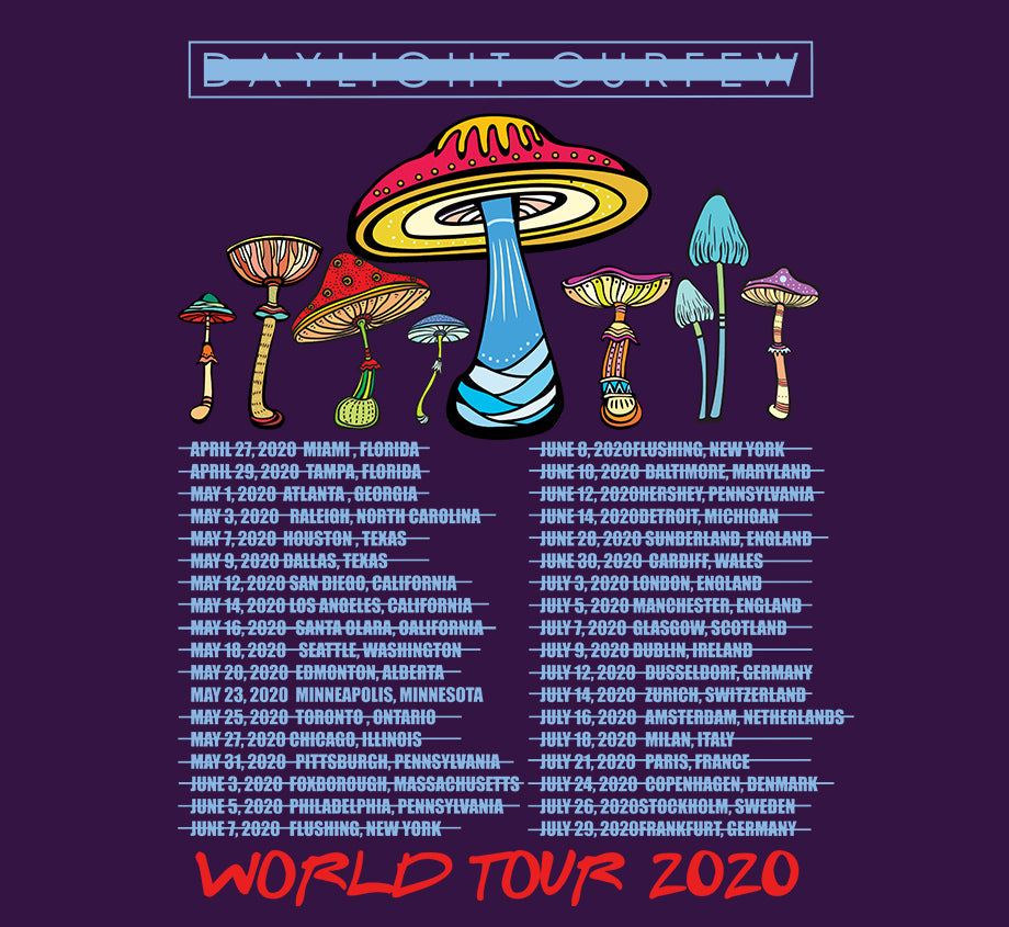 Summer '20: Tripping World Tour T-shirt