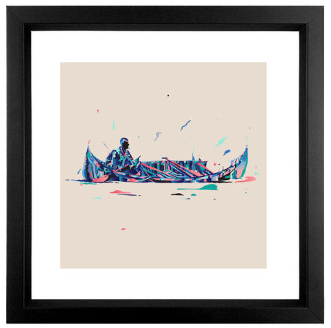 The '06 Print - Fine Art Print (limited edition) - Framed