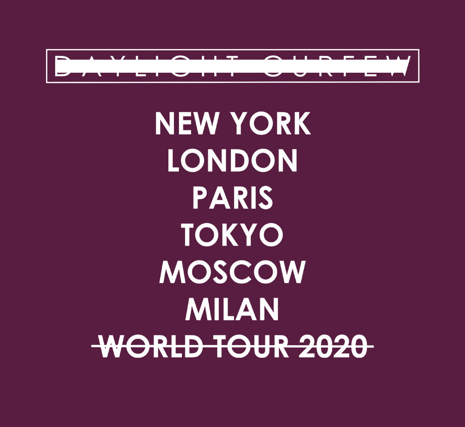 Summer '20: VR World Tour T-shirt