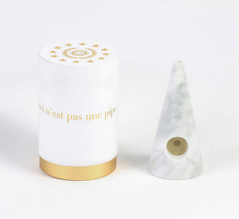 The Marble Pipe (White)