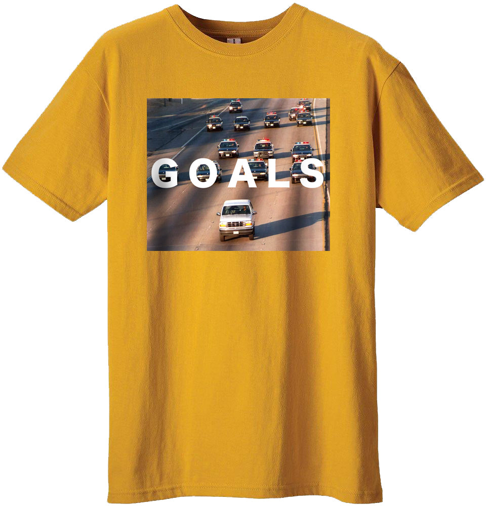Fame Goals T-shirt (Gold)