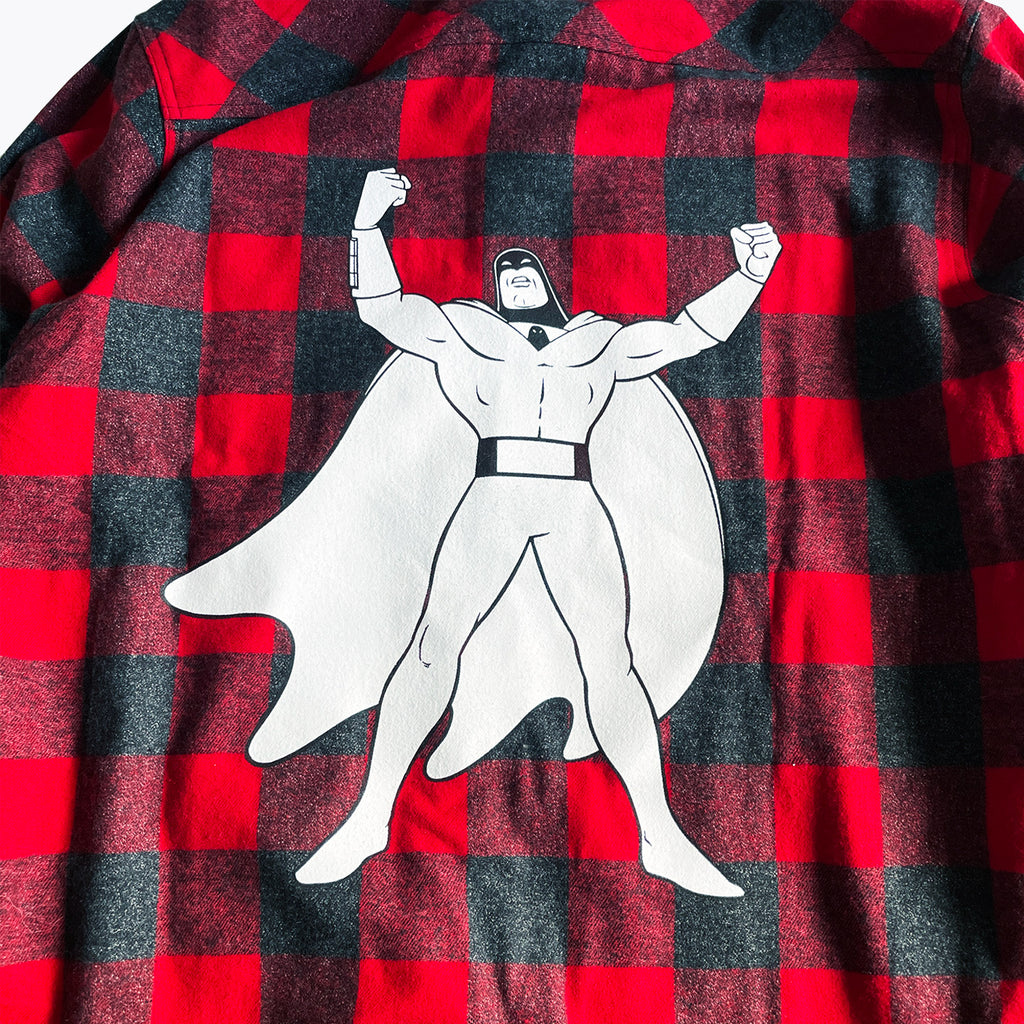 Daylight Curfew x Space Ghost: Superhero Flannel