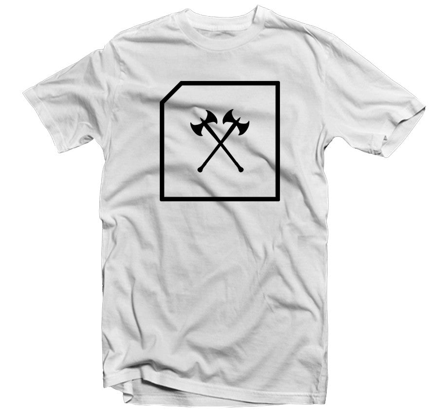 Battle Ax Tshirt - White