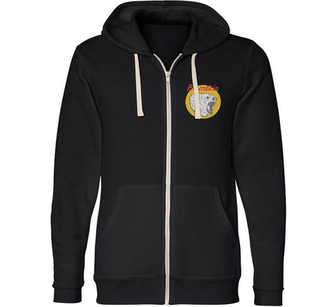 Berenstein Zip Up Hoodie (black)
