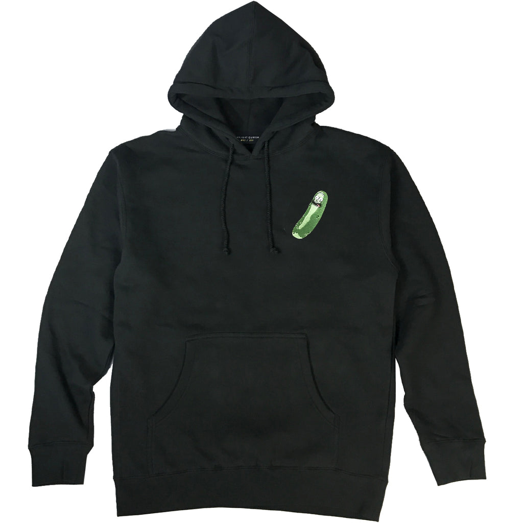 Official Pickle Rick Embroidered Hoodie - Black (Edition of 100)