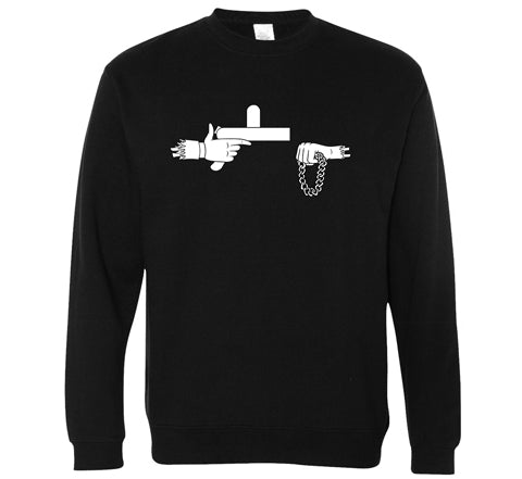 Official Rick The Jewels Crewneck - B&W