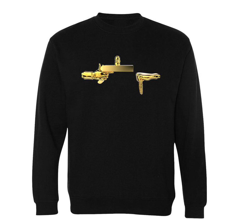 Golden Rick Sweatshirt (Black)