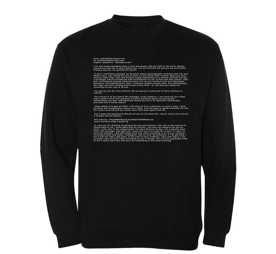 Webcam Crewneck Sweatshirt
