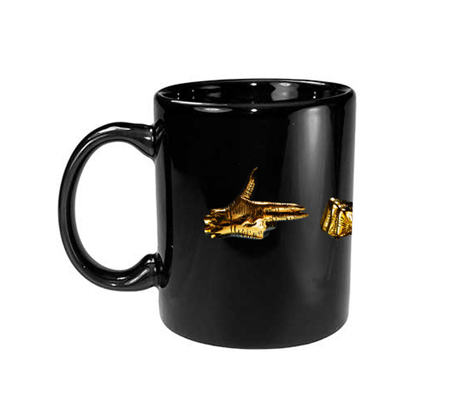 Golden Hands Mug (Black)