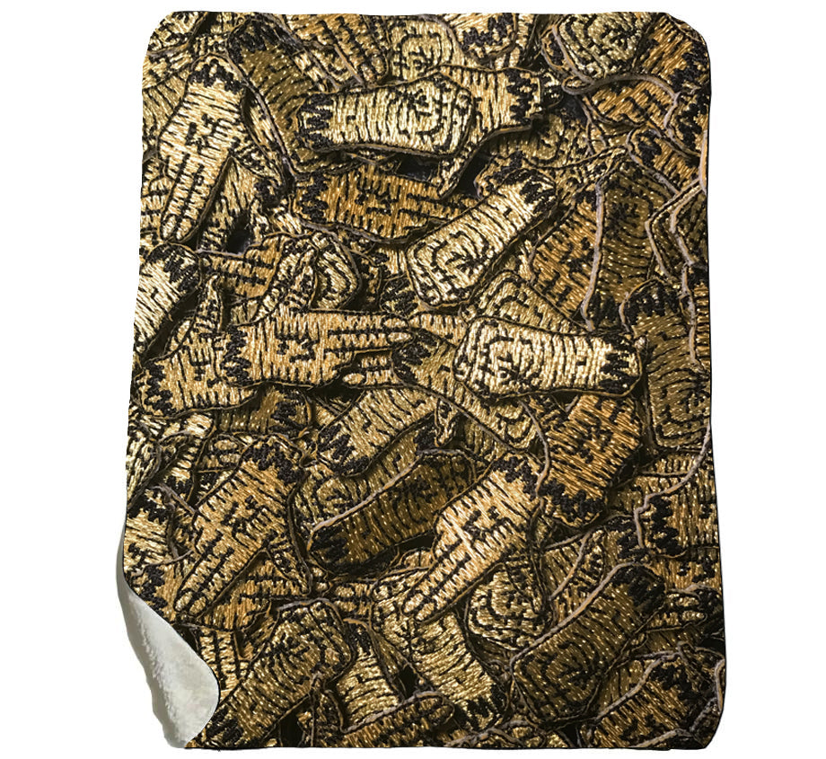 RTJ Golden Hand - Sherpa Fleece Blanket