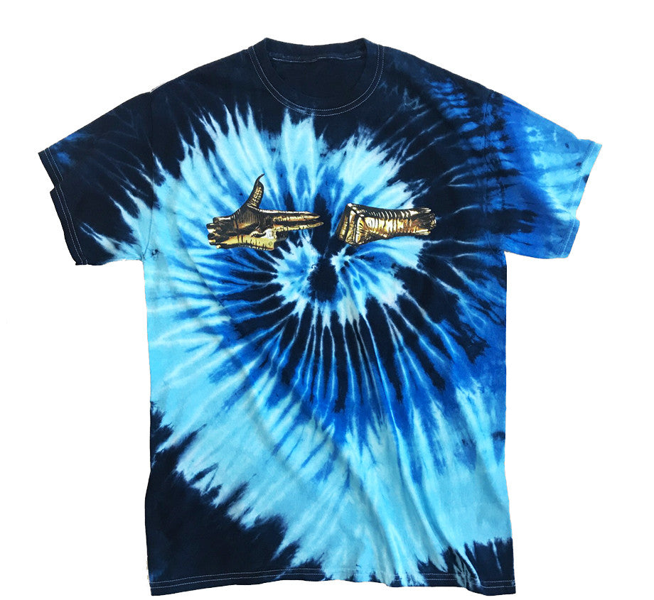 RTJ3 Blues Tie-Dye T-shirt
