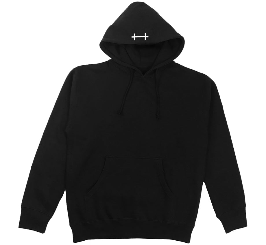 Boots Hood Embroidered Hoodie