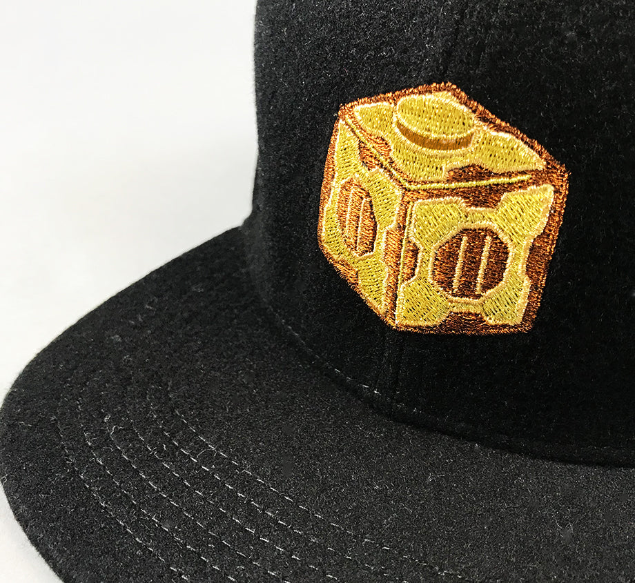 Golden Meeseeks Box Wool Snapback (Edition of 100)