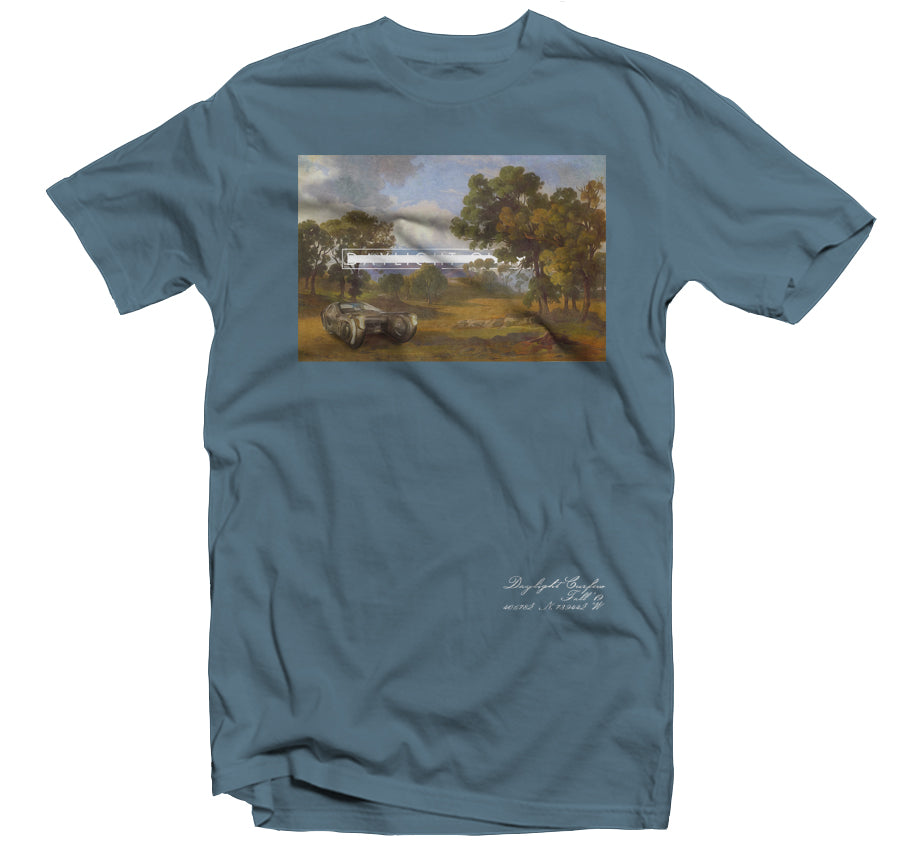 Fall '19: Bladerunner Landscapte T-shirt (Steel Blue)