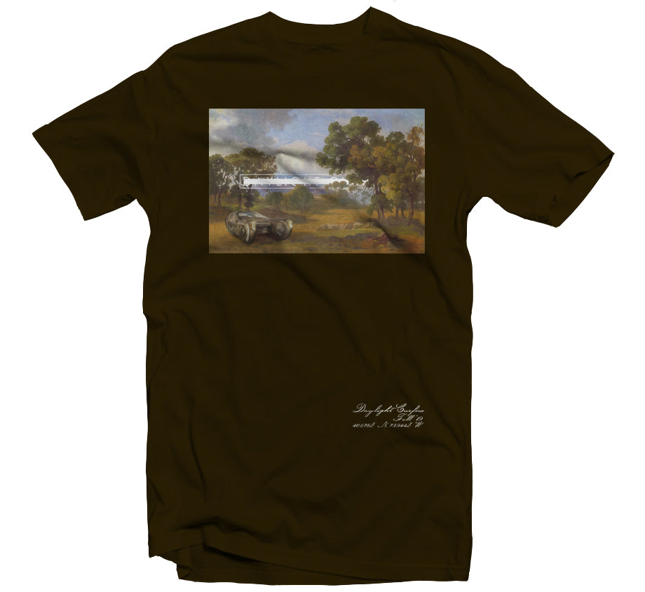 Fall '19: Bladerunner Landscape T-shirt (Brown)