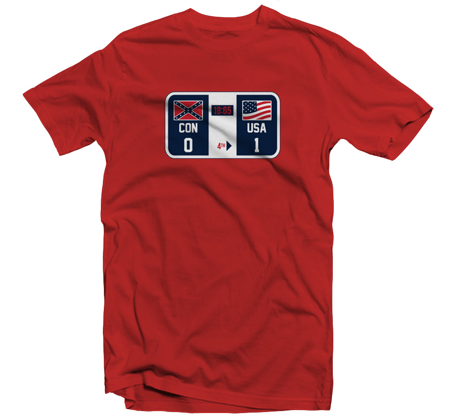 Winners and Losers (Check The Scoreboard) T-shirt - Red