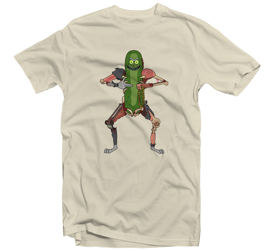 Pickle Rick T-shirt (Cream)