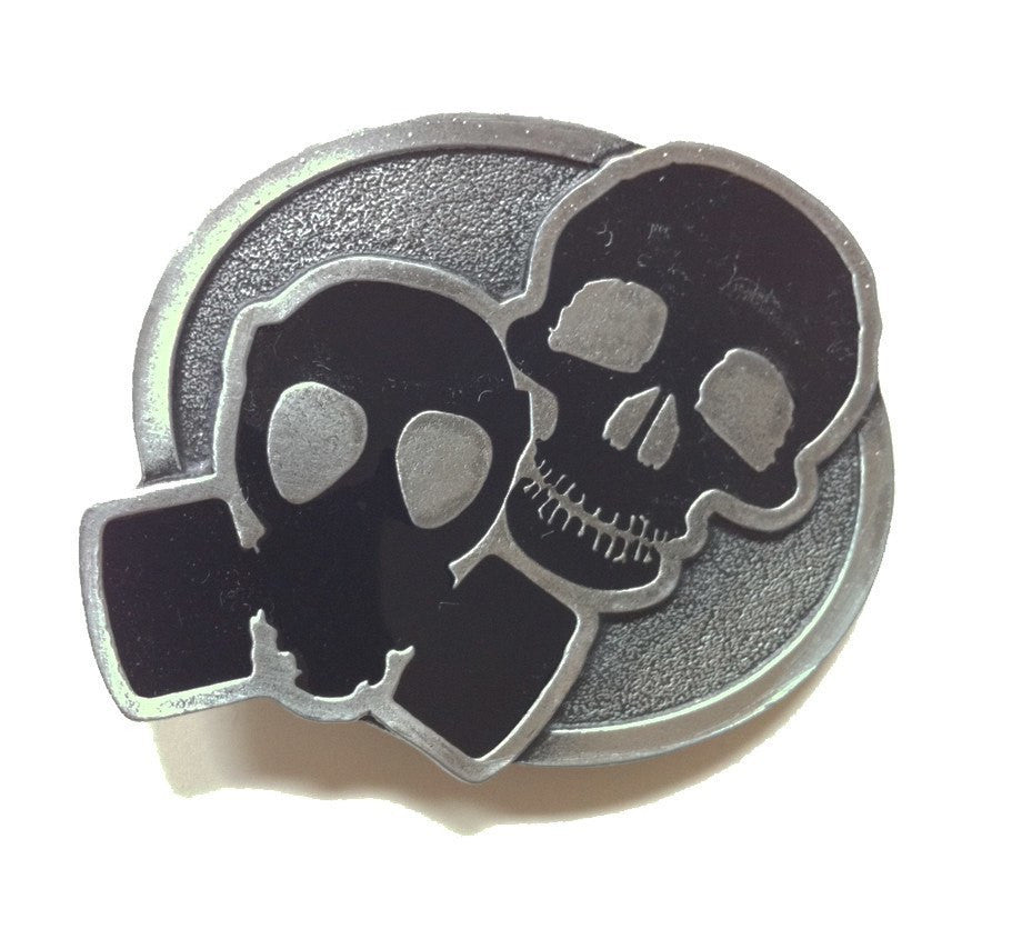 Def Jux - Gas Mask Belt Buckle