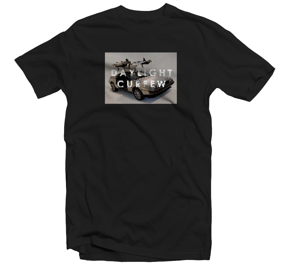 Super Future Time Travel T-shirt (Black)