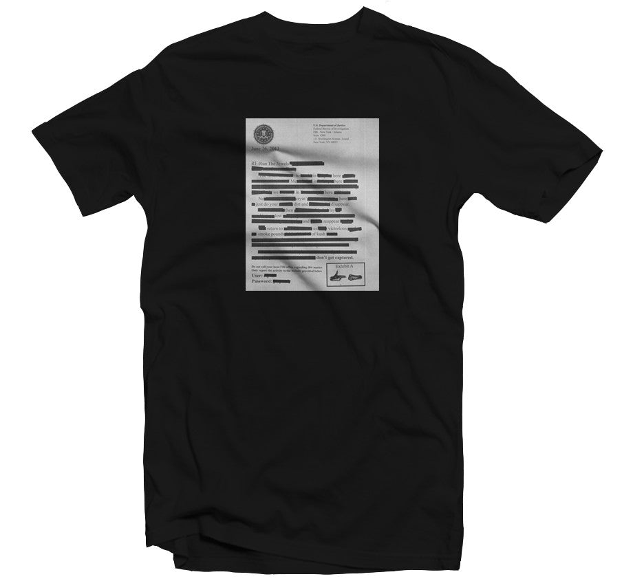 Don't Get Captured T-shirt (Black)
