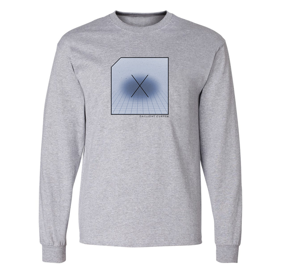 DLC Dimensions Long Sleeve T-shirt (grey)