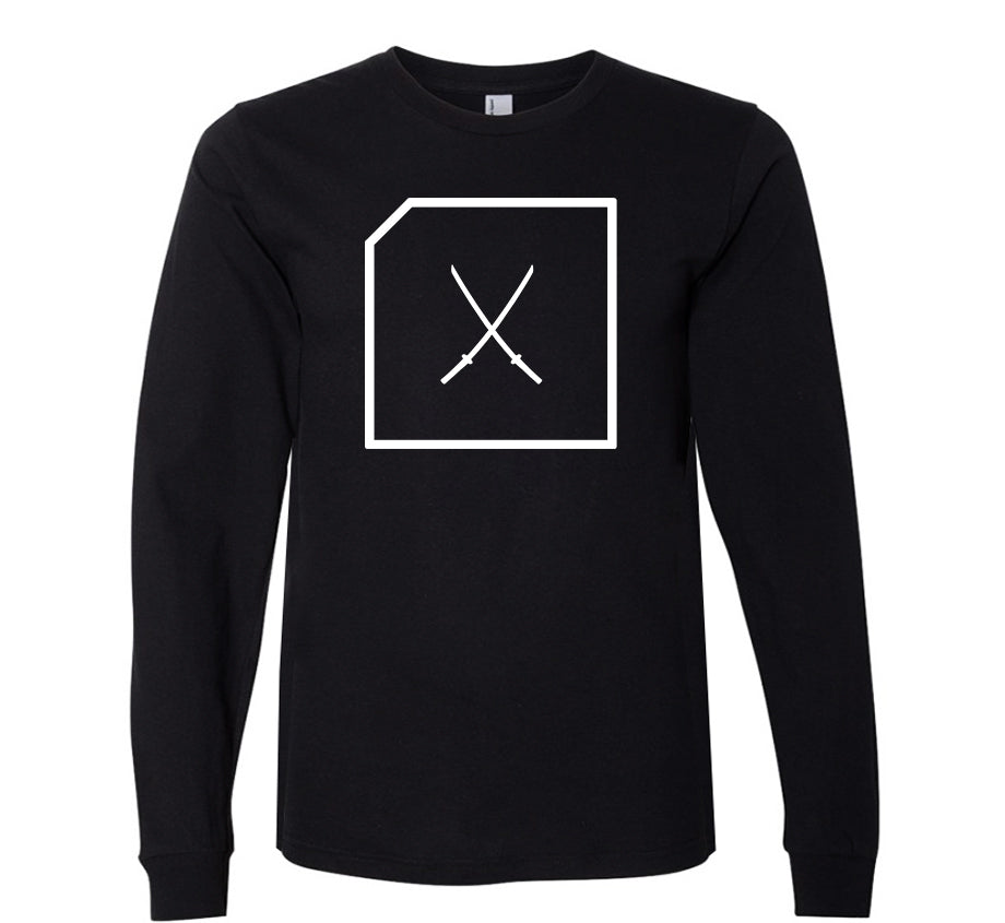 Katana Logo Long Sleeve T-shirt (black)