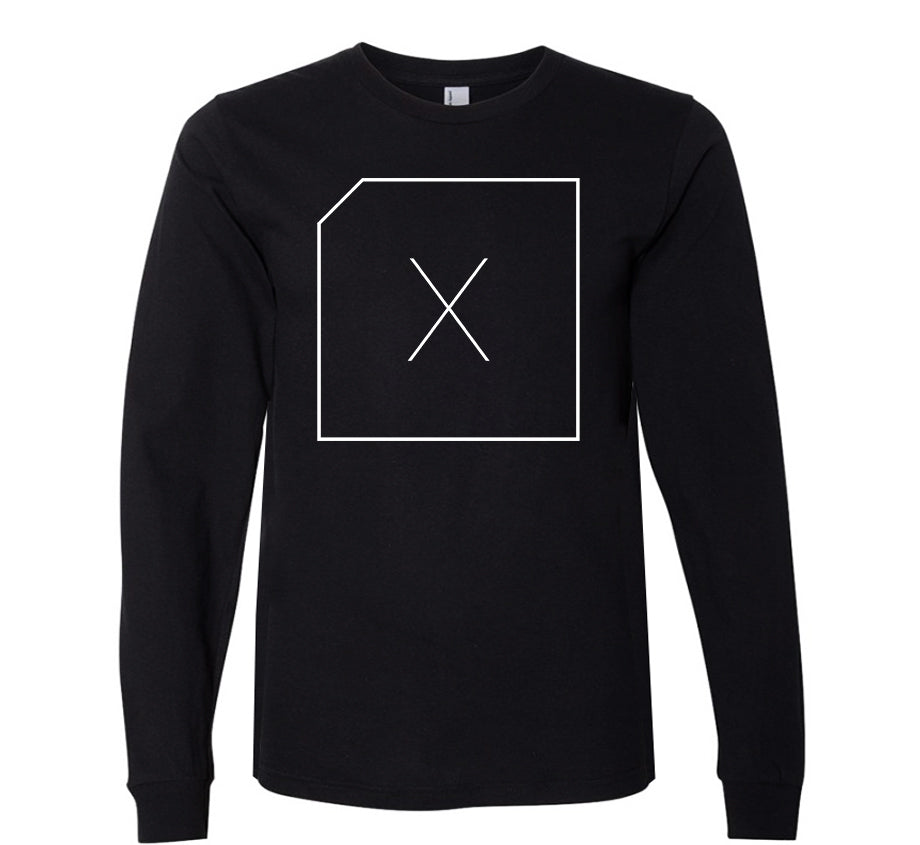 DLC Box Logo Long Sleeve T-shirt (black)