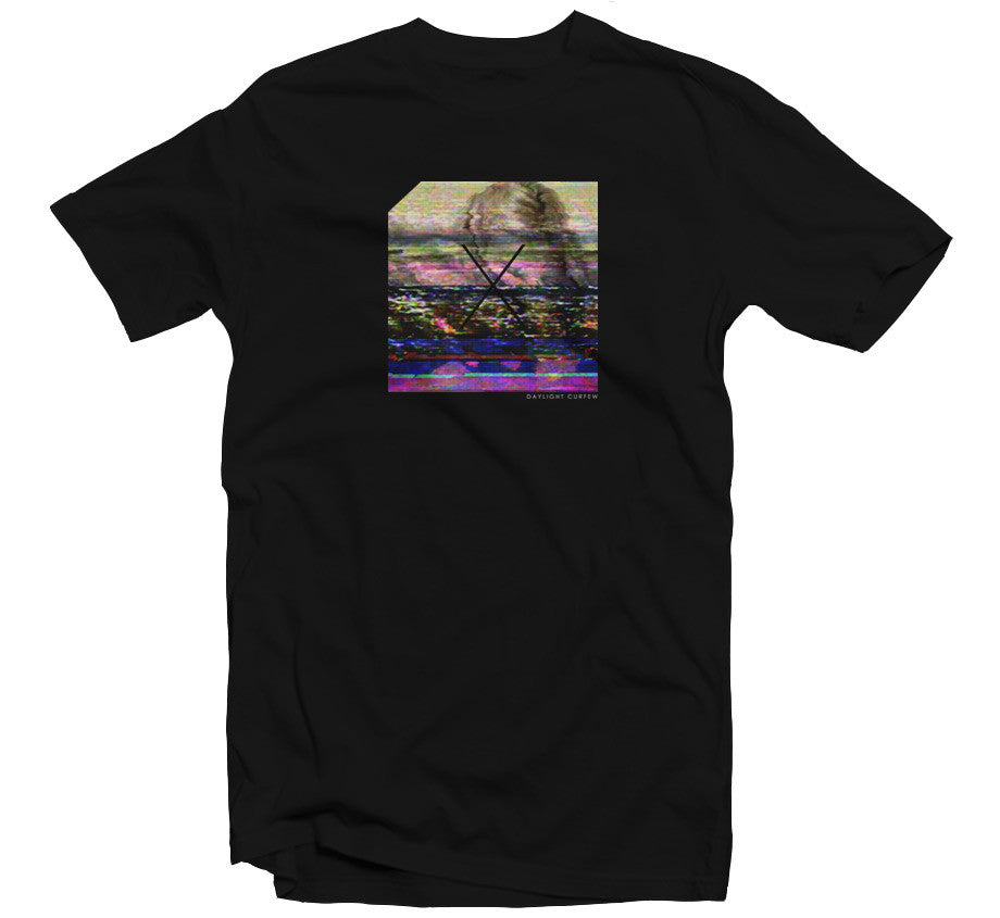 Channel 77 T-shirt - Black