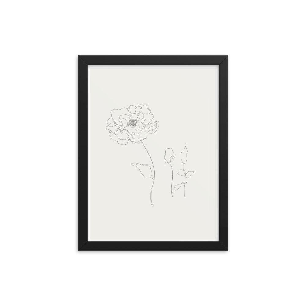 Soft Hand - Framed Print