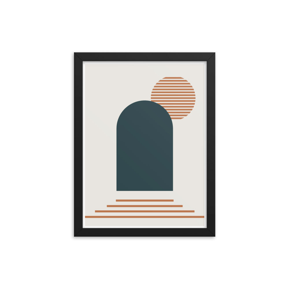 Second Doorway - Framed Print