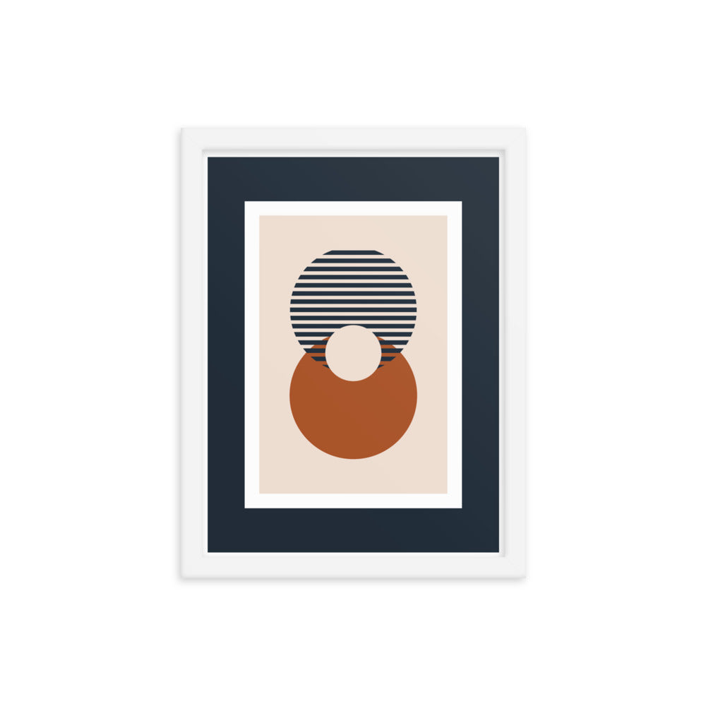 Two Equals - Framed Print