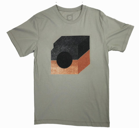 Mid Century T-shirt (orange)