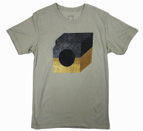 Mid Century T-shirt (yellow)