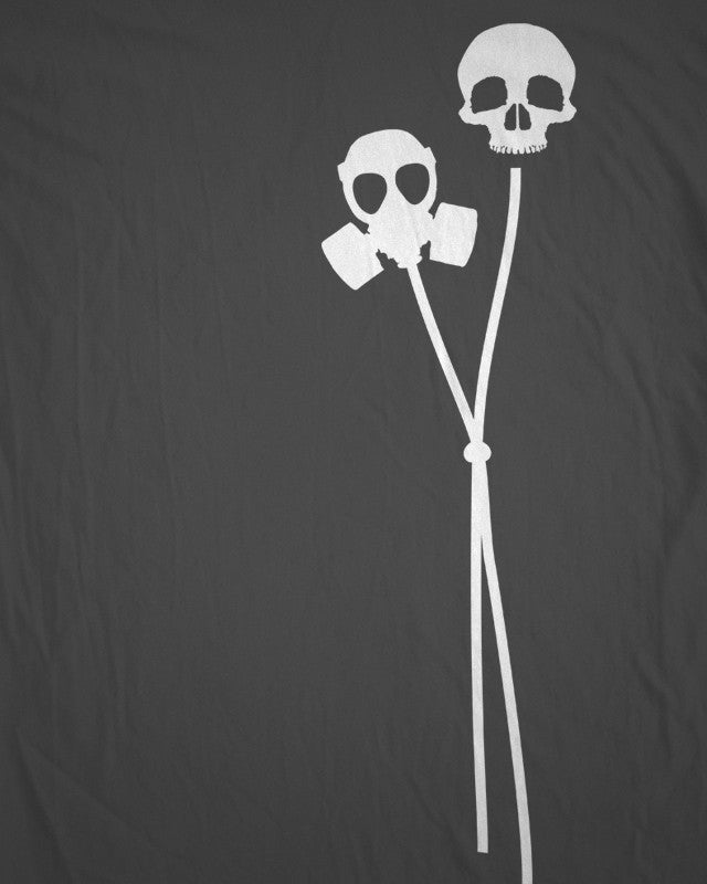 Def Jux Gas Balloon T-shirt - Grey