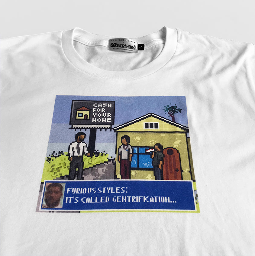 Not A Game T-shirt (White)