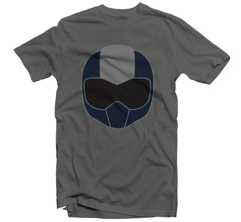 TOM Helmet T-shirt - Grey