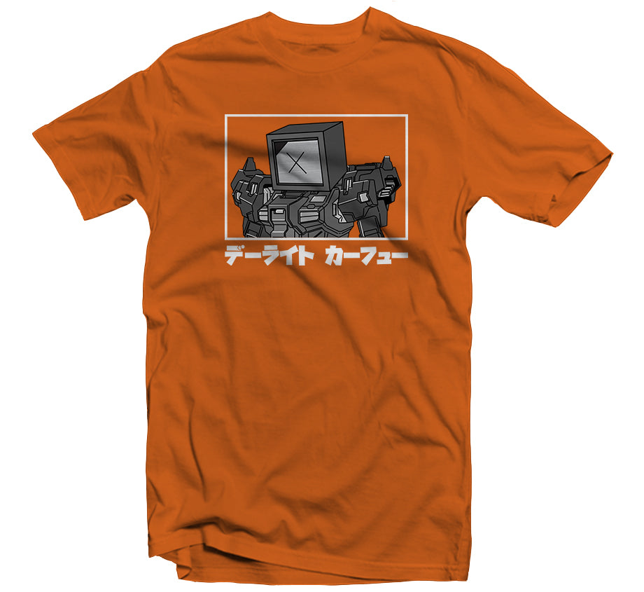 Gundam T-shirt (Orange)