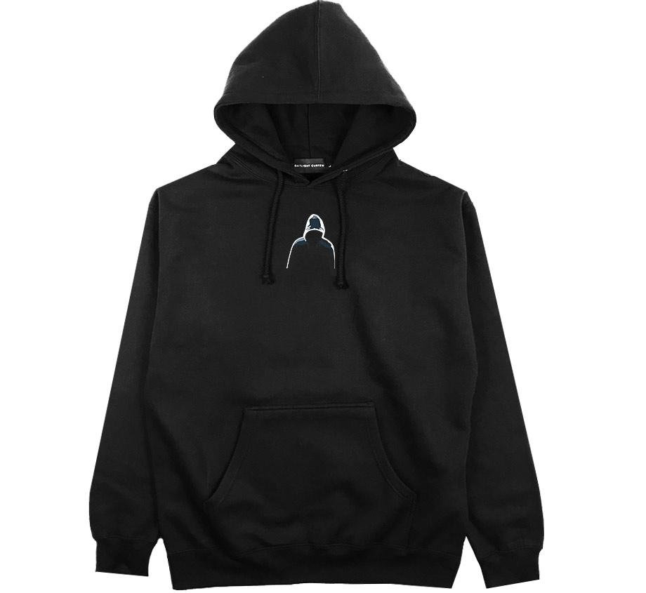 Dark Web Embroidered Hoodie