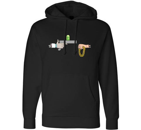 Official Rick The Jewels Pullover Hoodie - Black