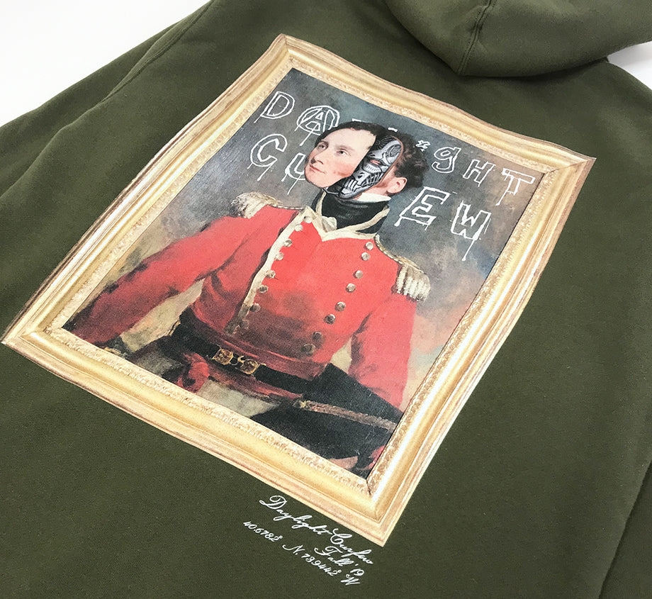 Fall '19: Obey Zip Up Hoodie (Army)