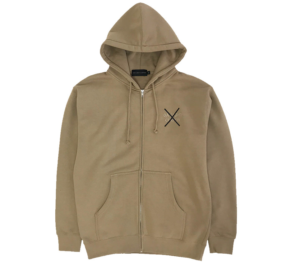Protection Zip Up Hoodie