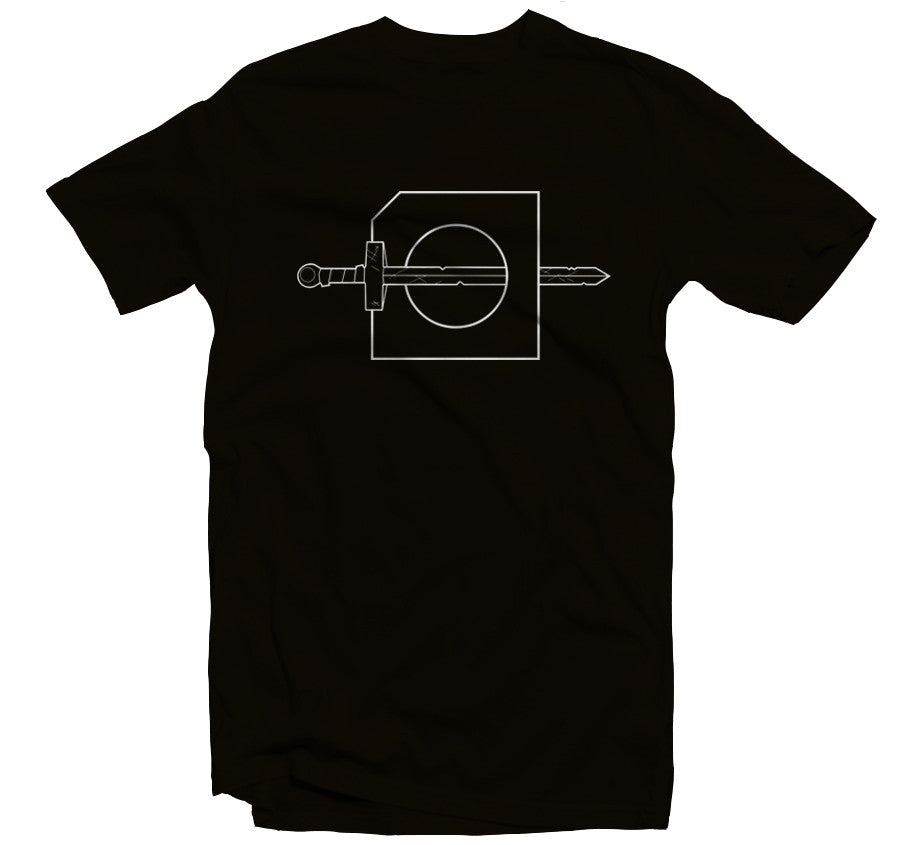 Golden Sword T-shirt (Black)