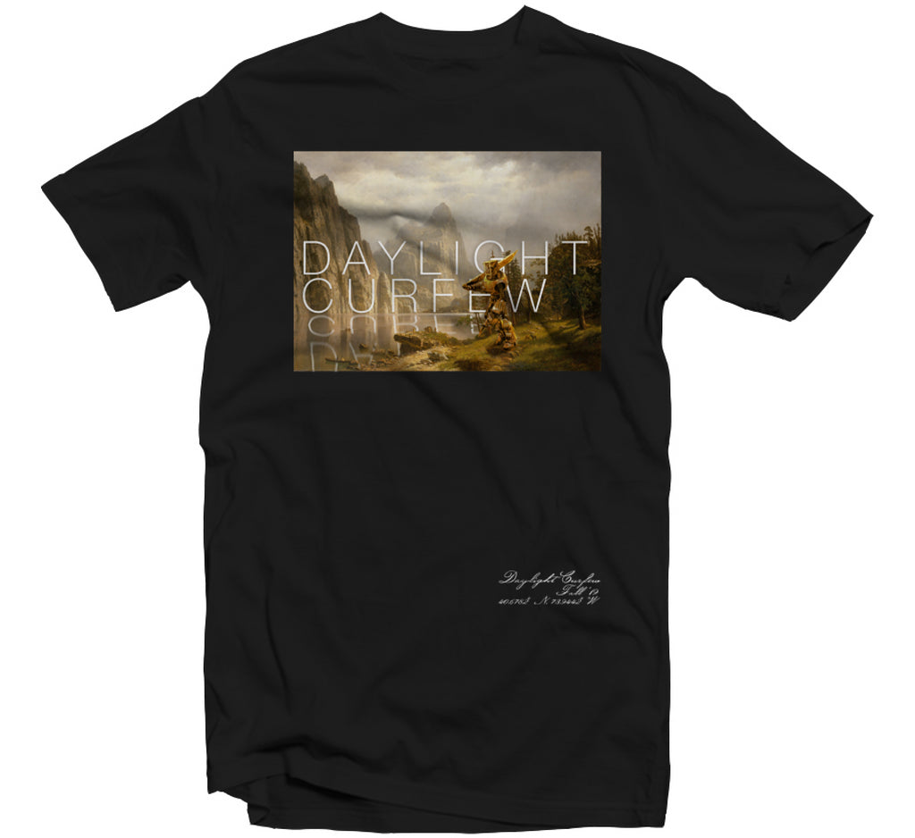 Fall '19: Mech Landscape T-shirt (Black)