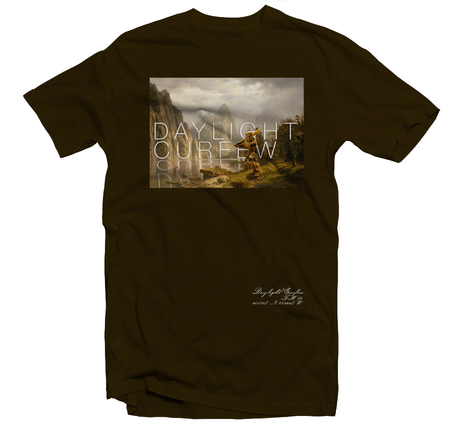 Fall '19: Mech Landscape T-shirt (Brown)
