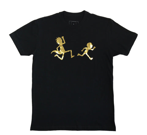 Rick and Morty - First Place T-shirt (Gold Foil - Edition of 150)