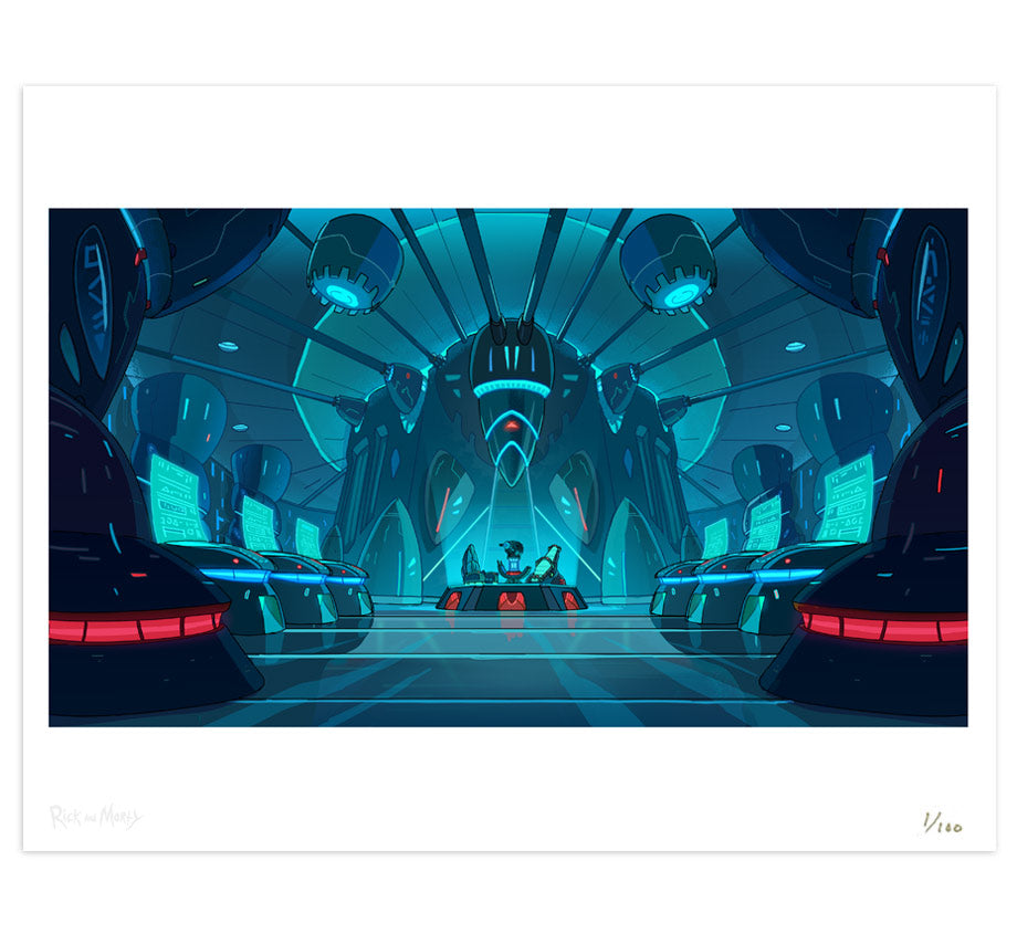 Backgrounds: Rick and Morty - The Rickshank Rickdemption