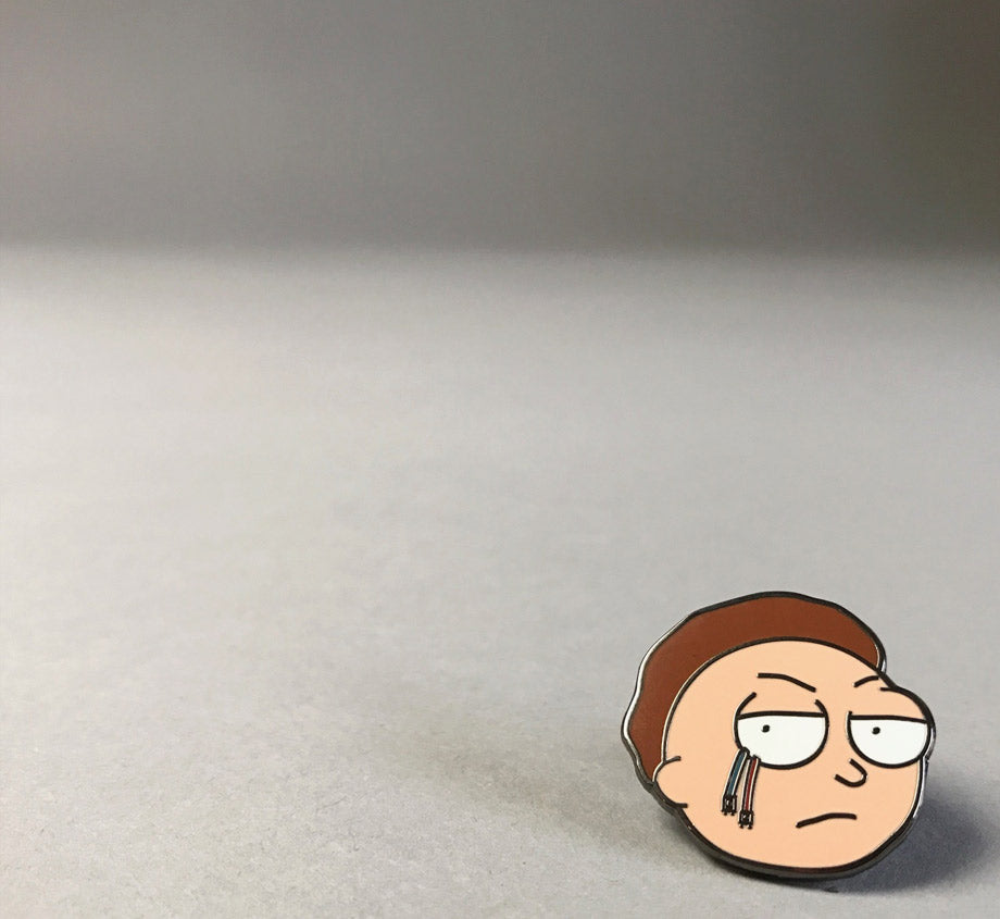 Evil Morty Pin